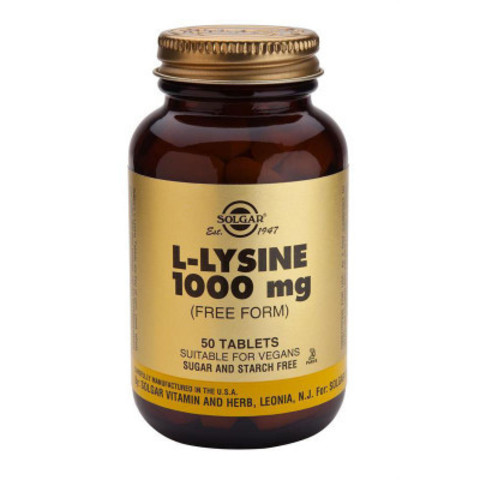 L-LYSINE 1000MG N50