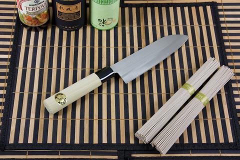 Кухонный нож Santoku 8117-A