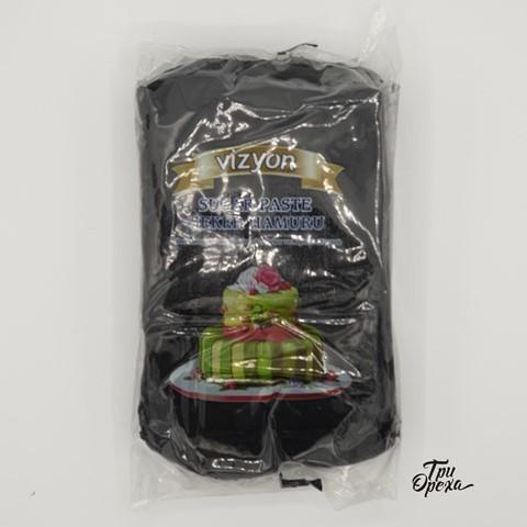 Паста для лепки Мастика черная Polen (Vizyon), 1 кг.