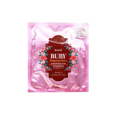 Гидрогелевая маска Koelf Ruby & Bulgarian Rose Hydrogel Mask Pack, 30 мл