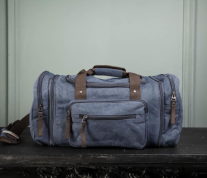 BAG477-3 Большая сумка для поездок синего цвета фото 02