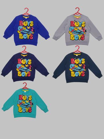 Свитшот для мальчиков с начосом 2-6