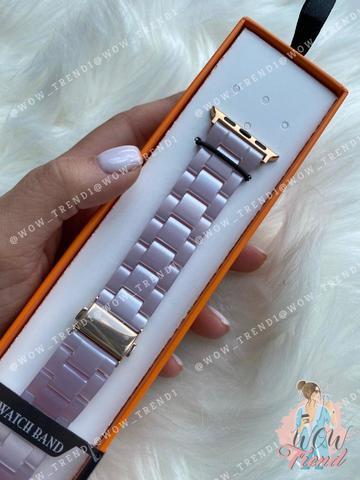 Ремешок Apple watch 38mm Resin band /lavender/