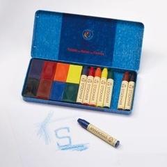 Мелки набор 8 блоковых / 8 пальчиковых (Stockmar)
