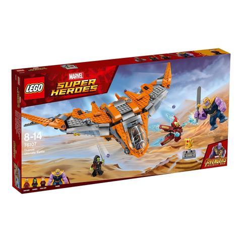 LEGO Super Heroes: Танос: Последняя битва 76107 — Thanos: Ultimate Battle — Лего Супергерои Марвел