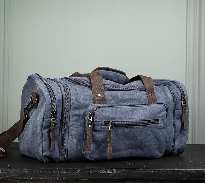 BAG477-3 Большая сумка для поездок синего цвета фото 03