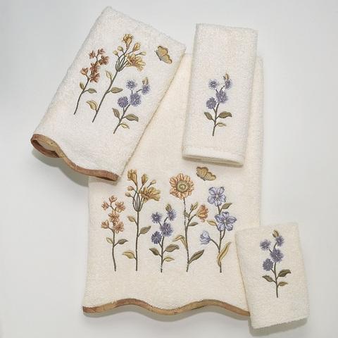 Полотенце 69х132 Avanti Country Floral слоновой кости