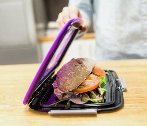 Ланч-бокс для бутербродов Foodskin, фиолетовый