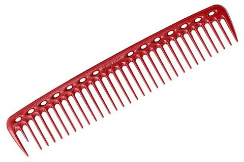 Расческа для стрижки Y.S. Park-402 красная 22.8 см