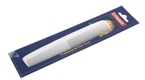Расчёска 17,5 см цветная Titania