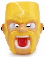 Клэш оф Кланс маска детская Варвар с подсветкой