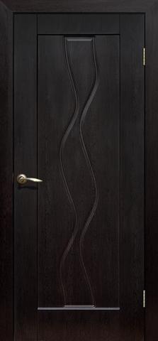 Дверь Сибирь Профиль Водопад, цвет венге, глухая