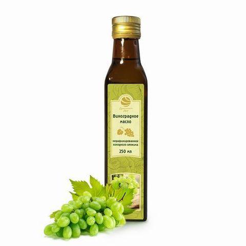 Виноградное масло нерафинированное