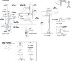 Ergotron LX Sit-Stand 45-360-026 - Настольное крепление