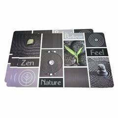 Комплект из 4 сервировочных ковриков 43,5x28,5см (пластик)