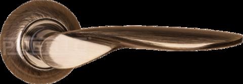 Фурнитура - Ручка Дверная  Puerto AL 509-08, цвет бронза античная