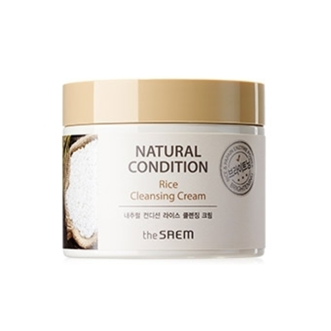 THE SAEM Natural Condition Крем очищающий рисовый (New) Natural Condition Rice Cleansing Cream  300мл