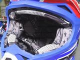 Шлем кроссовый Just1 J32 2017 белый-синий-красный, размер L (59-60)