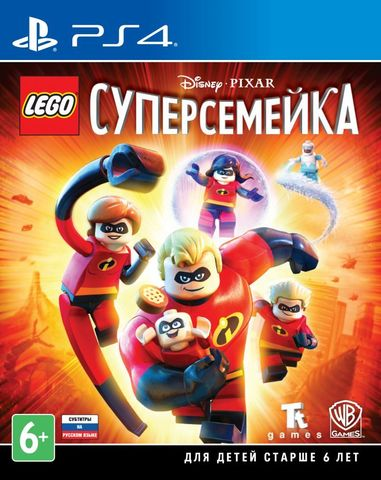 Sony PS4 LEGO Суперсемейка (русская версия)