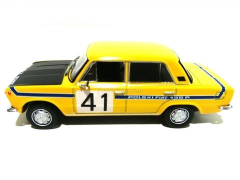 Fiat 125P Rallye #41 Rally 1:43 DeAgostini Kultowe Auta PRL-u