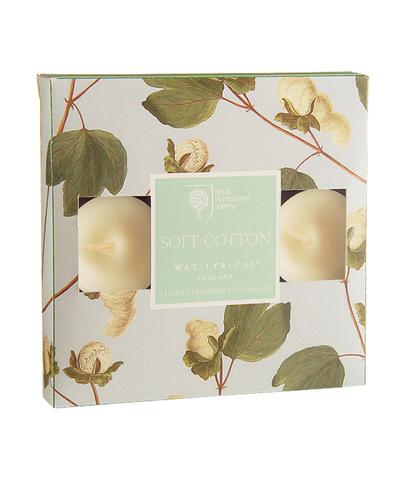 Набор ароматических чайных свечей Цветущий хлопок, Wax Lyrical