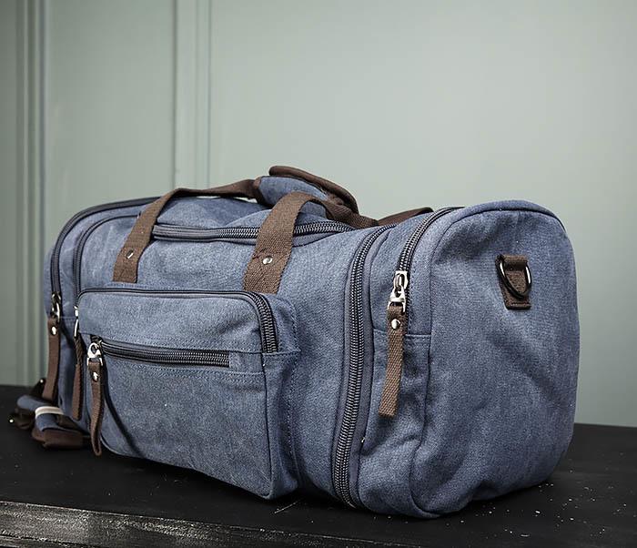 BAG477-3 Большая сумка для поездок синего цвета фото 04