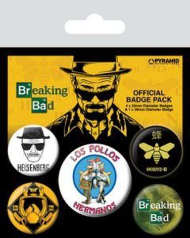 Набор значков Breaking Bad