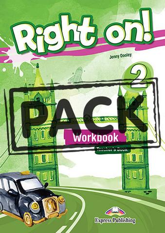 Right On! 2. Workbook Teacher's Book (with DigiBook App.) Рабочая тетрадь для учителя (с ссылкой на электронное приложение)