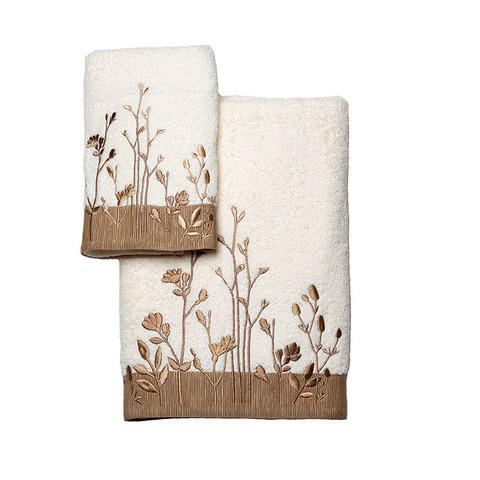 Полотенце 69х132 Avanti Floral Fields слоновой кости