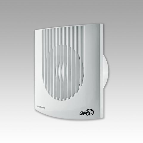Вентилятор накладной Эра FAVORITE 5-01 D125 с сетевым кабелем и выключателем
