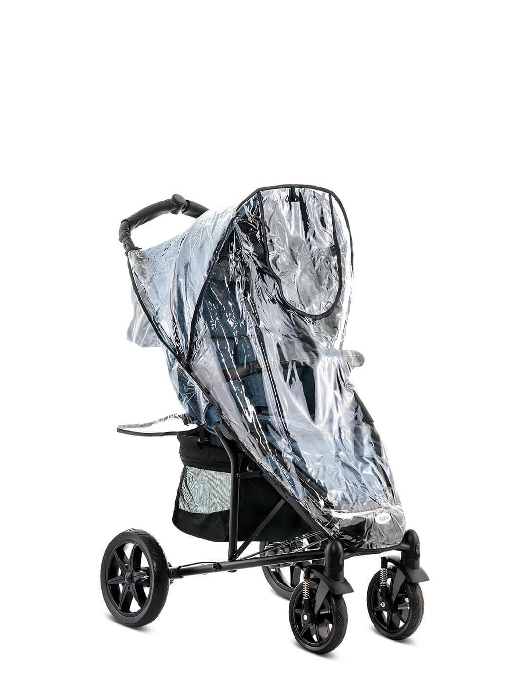 Дождевики для колясок Дождевик для Moon Kiss/Flac FLAC_blue_melange_61.610.300-990_Regenverdeck-2.jpg