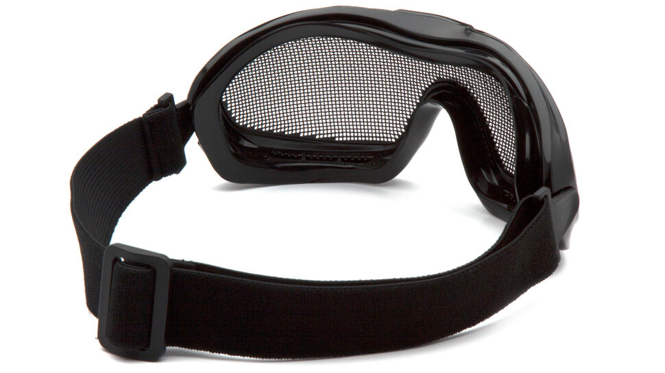 Очки баллистические тактические Pyramex G9WMG Anti-fog сетка черные 0%