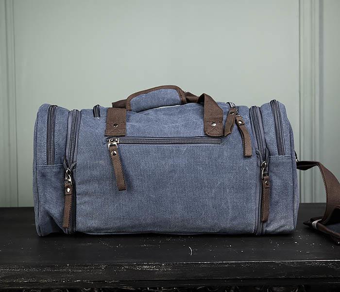 BAG477-3 Большая сумка для поездок синего цвета фото 05