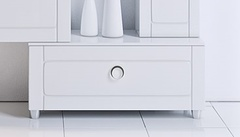 Тумба напольная  Aqwella Infinity 100 цвет белый Inf.03.10/W