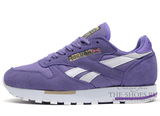 Кроссовки Женские Reebok Classic Leather Lilac Suede