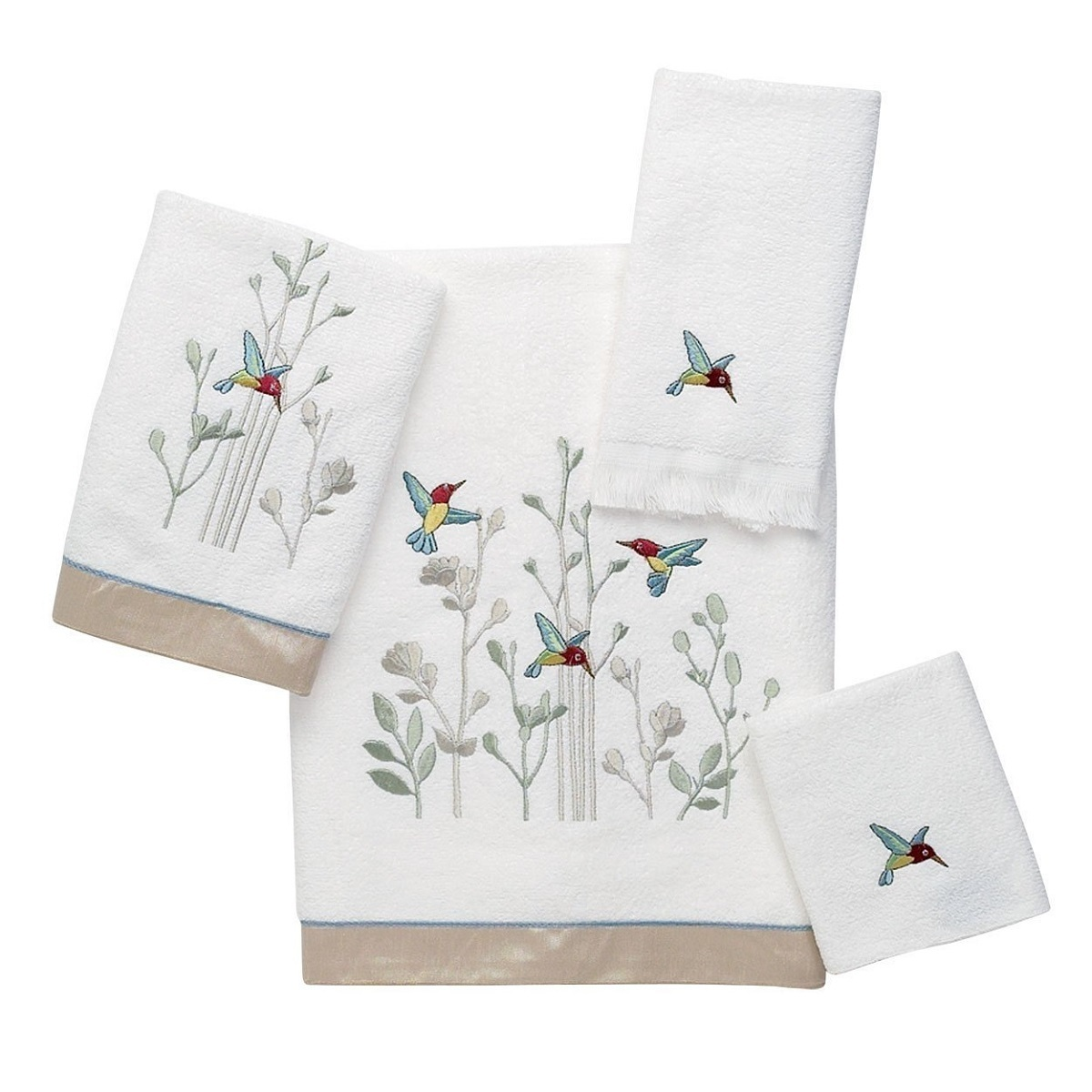 Полотенца Полотенце 69х132 Avanti Hummingbird белое elitnoe-polotentse-mahrovoe-hummingbird-ot-avanti-kanada.jpg