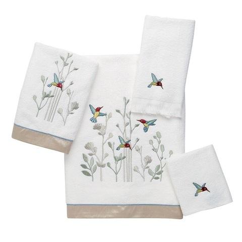 Полотенце 69х132 Avanti Hummingbird белое