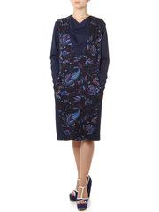 P378-8z платье женское, синее