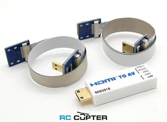 Конвертер RCD3016 HDMI to AV (PAL, NTSC)