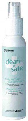 Интимная гигиена: Очищающий спрей для игрушек Clean'n'safe - 100 мл.