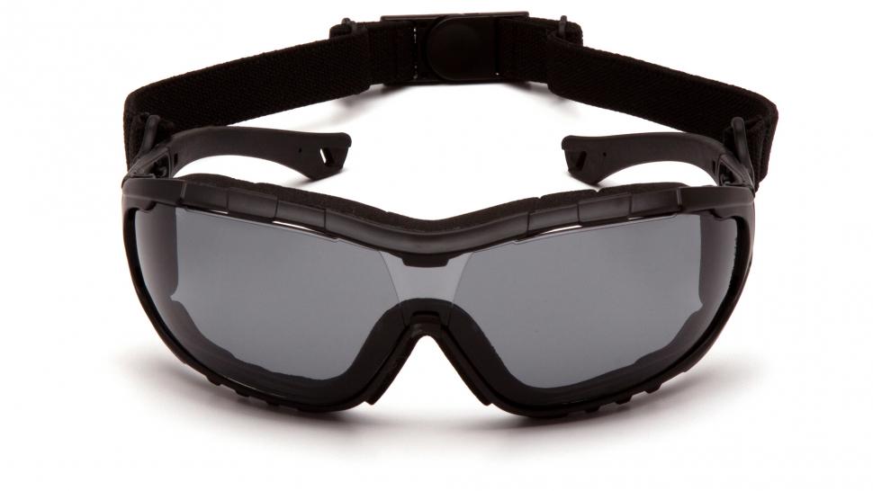 Очки баллистические тактические Pyramex V3T SB10320ST Anti-fog серые 23%