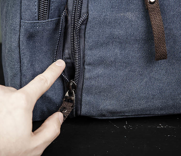 BAG477-3 Большая сумка для поездок синего цвета фото 06