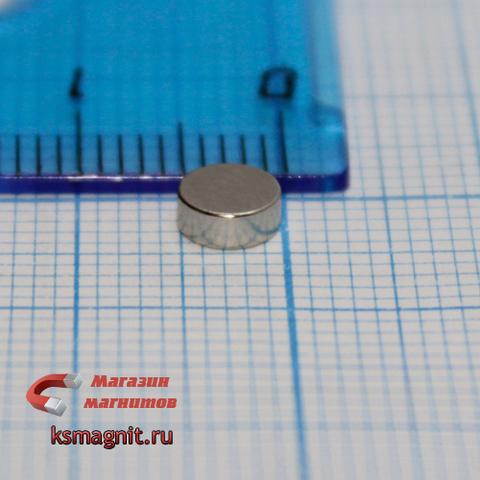 Магнит диск 5х2 мм