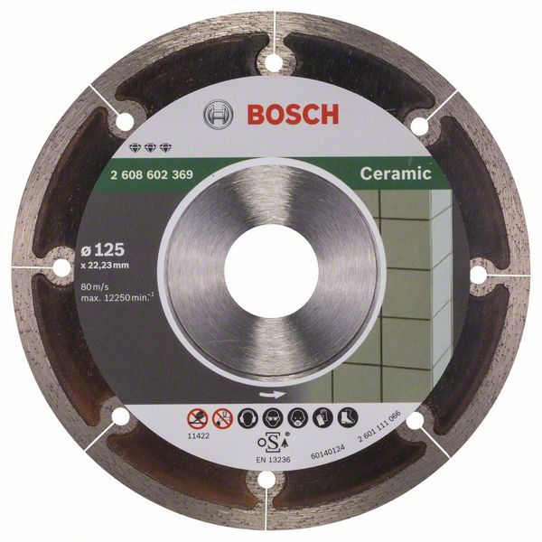Алмазный диск Best for Ceramic 125-22,23 Bosch 2608602369