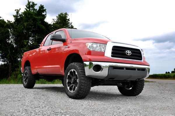 Лифт комплект подвески Rough Coutry Toyota Tundra 4WD 07-15 4.5 дюйма фото-1