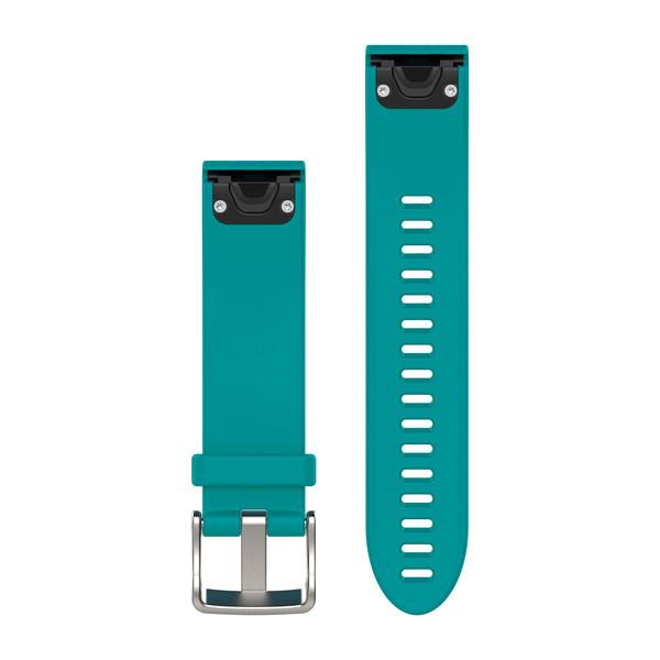 Силиконовый ремешок Garmin QuickFit 20 мм бирюзовый