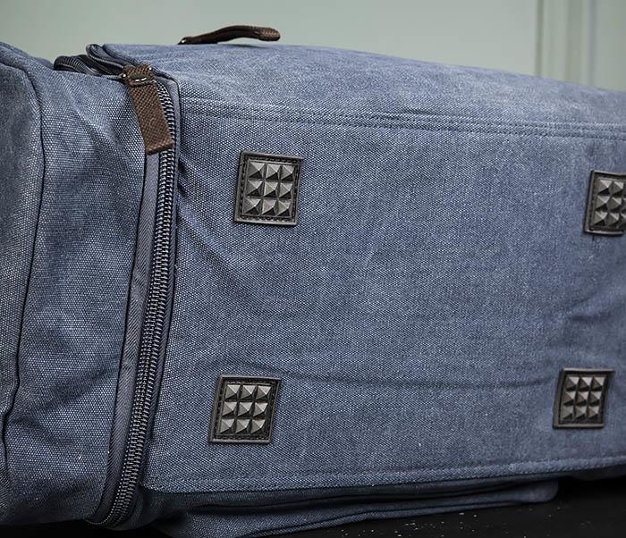 BAG477-3 Большая сумка для поездок синего цвета фото 07
