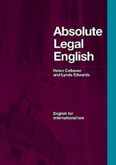 Absolute Legal English SB +(CDx1) #ост./не изда...