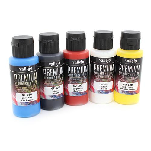 62101 Premium Colors Набор Укрывистых Красок (Opaque Basics), 5x60 мл