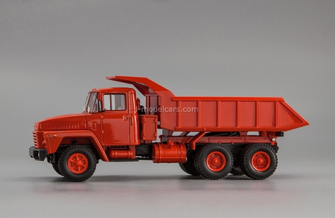 KRAZ-251 dump 1979-1981 red 1:43 Nash Avtoprom
